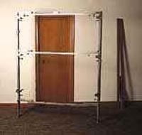 раздвижной шаблон для установки дверной коробки